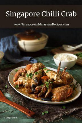 Singapore Chilli Crab on a